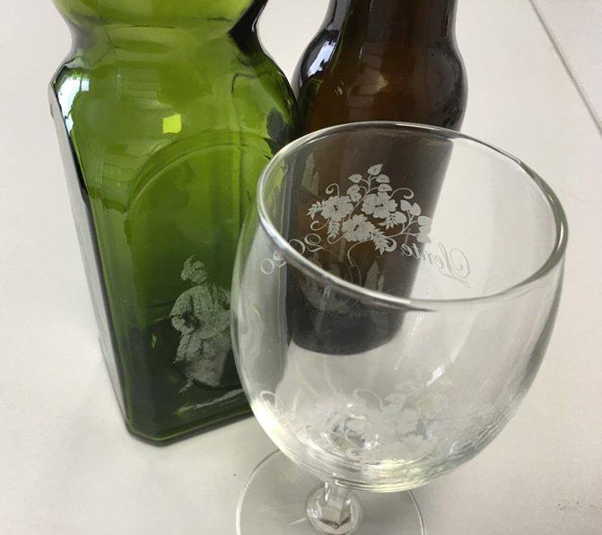laser glas graveren
