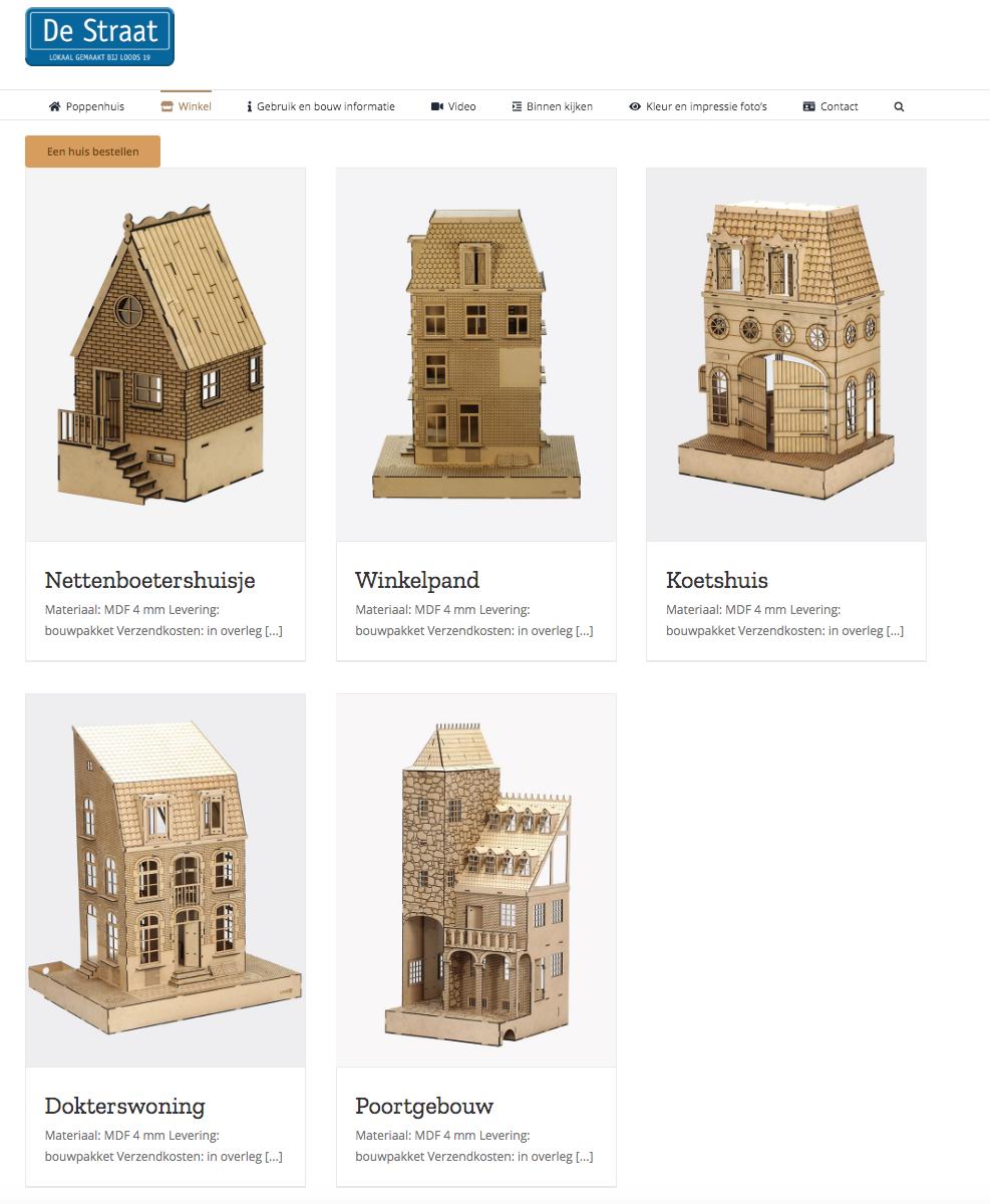 Poppenhuis Nederland website