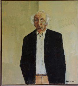 Jan Bakker zelfportret